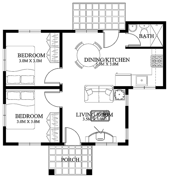 Nice Home Plan For Small Area