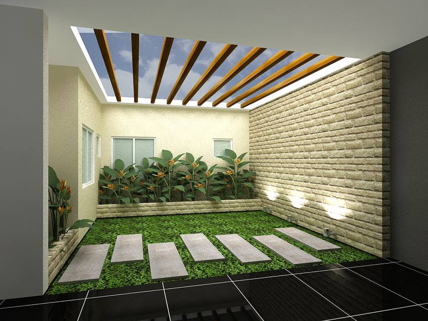 Nice Indoor Garden Design Idea - 4 Home Ideas