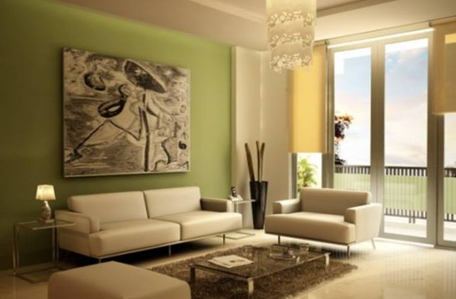Paint Idea To Make Fresh Living Room