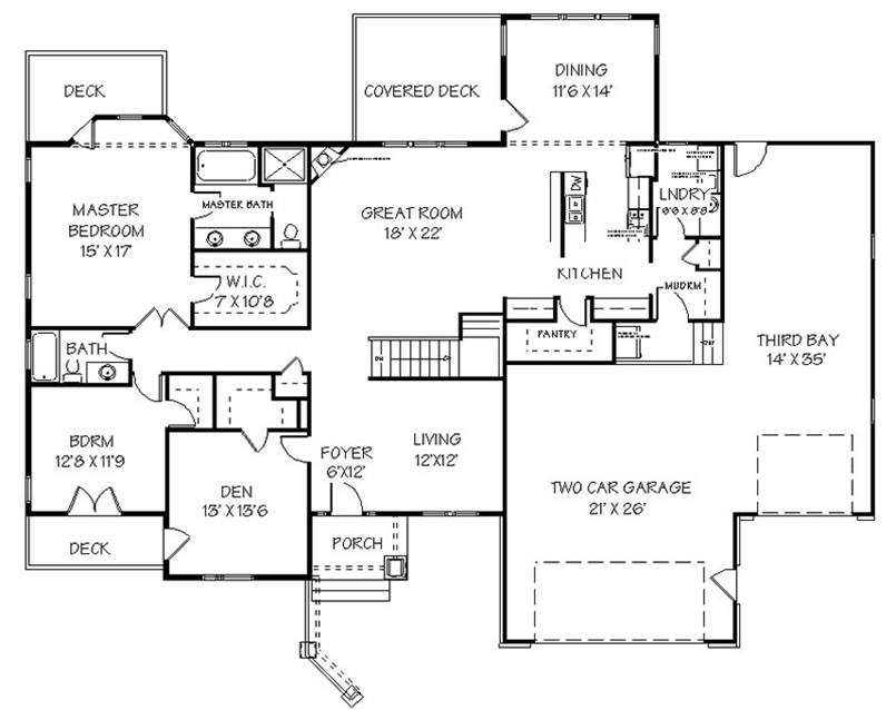 Simple Minimalist Home Plan Design Idea