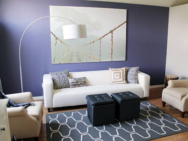 Simple Paint Idea For DIY Living Room