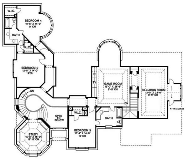 Small 2 Floor House Plan