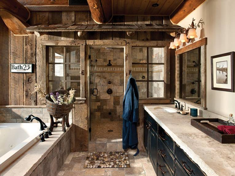 Small Bathroom Design With Western Style