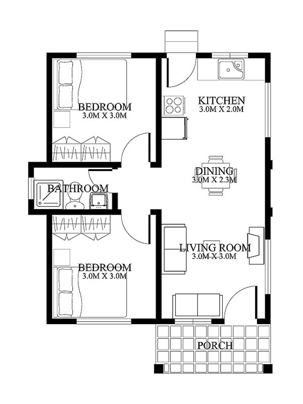 Small Home Plan For Limited Land