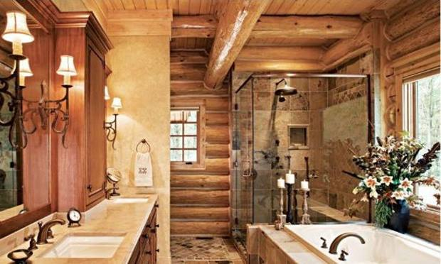 Small Western Bathroom Design Idea