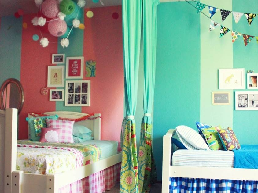 Turquoise Paint Idea For Bedroom
