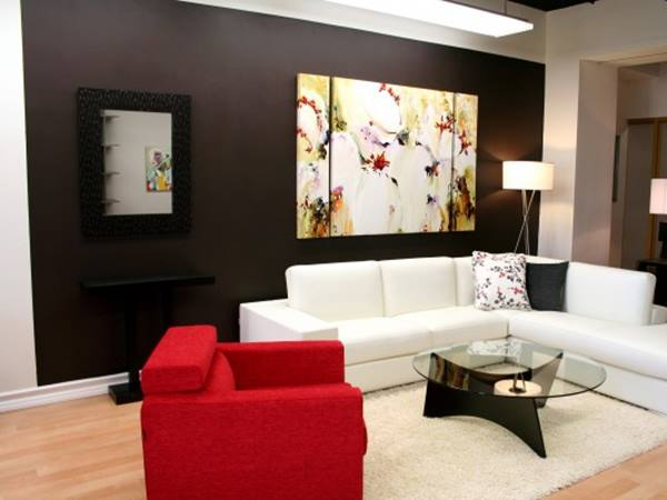 Wall Paint Ideas For DIY Living Room