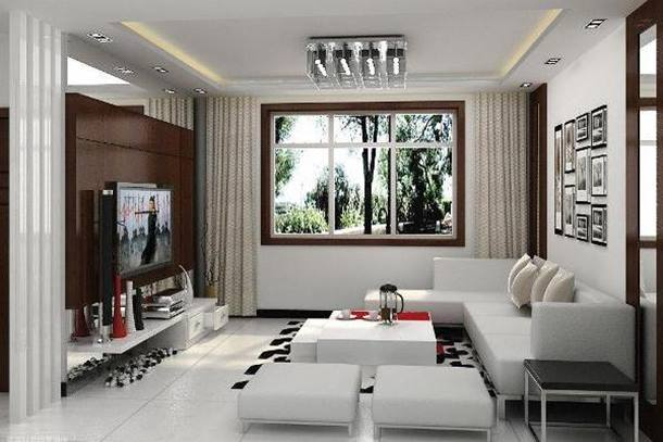 White Paint Idea For Affordable Home Decor
