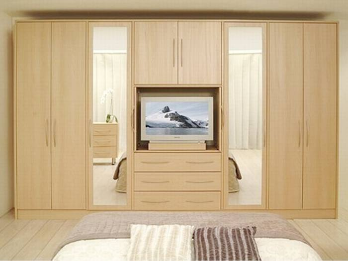 Wooden Bedroom Wardrobe Design Selection
