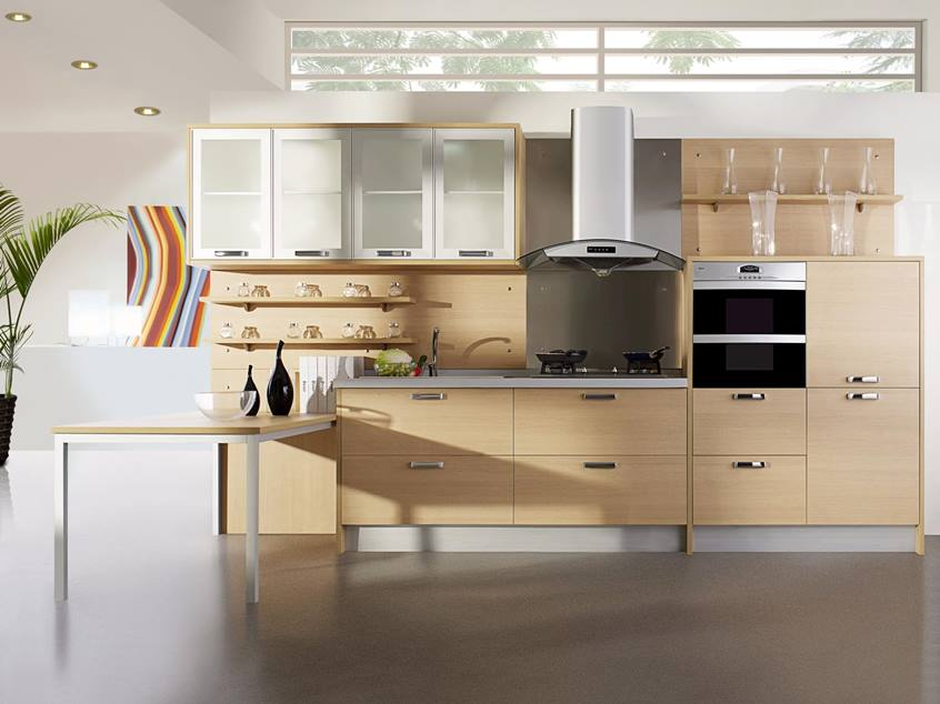 Wooden Furniture Idea For Modern Kitchen