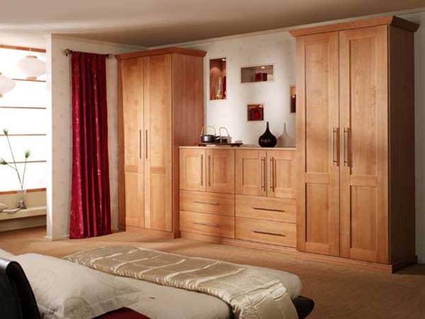Wooden Wardrobe Design For Bedroom Decor