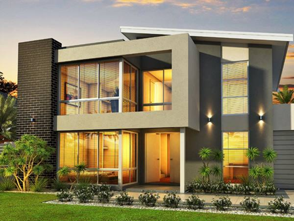 2 Storey House Design On A Budget