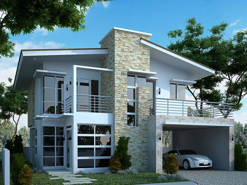 Newest Luxury 2 Storey Minimalist Home Pictures Gallery