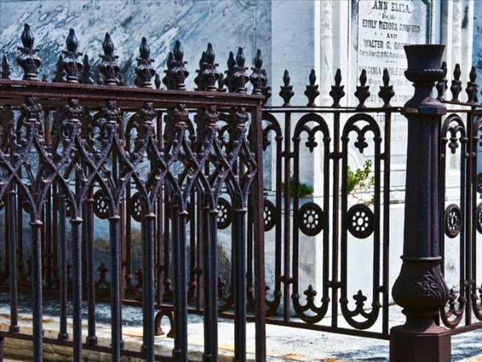 Attractive Iron Fence Design Model