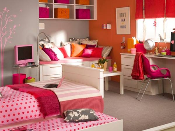 Beautiful Girls Bedroom Design For Teenage | 4 Home Ideas on Beautiful Rooms For Teenage Girls  id=81169
