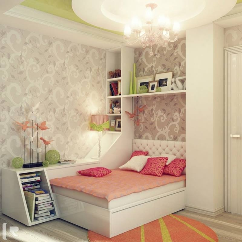 Beautiful Girl Bedroom With Minimalist Design