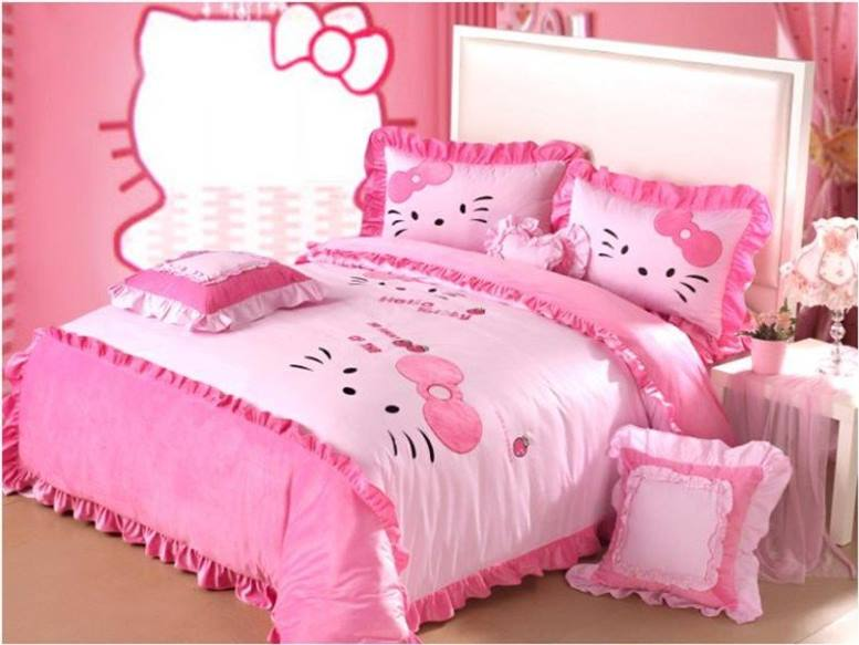 Beautiful Hello Kitty Bedroom For Girls
