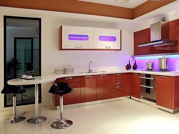 Beautiful Minimalist Kitchen Color Design Idea