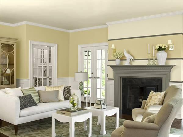 Beautiful Paint Color For Formal Living Room