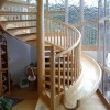 Beautiful Spiral Home Stairs Design