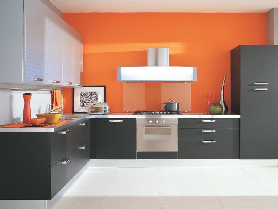 Best Modular Kitchen Color Scheme