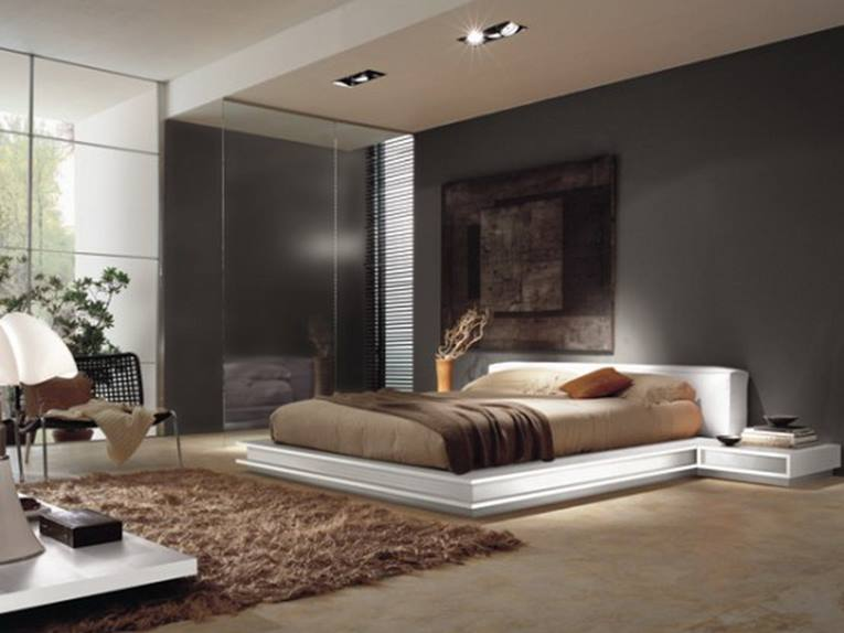 Black Main Bedroom Paint For Elegant Look