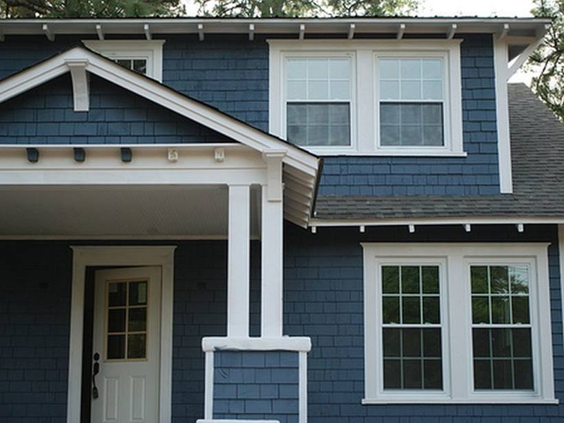 Blue Paint Color For Home Exterior
