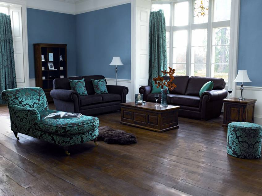 Calm Blue Paint For Living Room