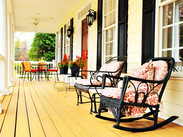 Chair Selection For Home Porch