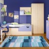 Child Bedroom Design With Wooden Furniture