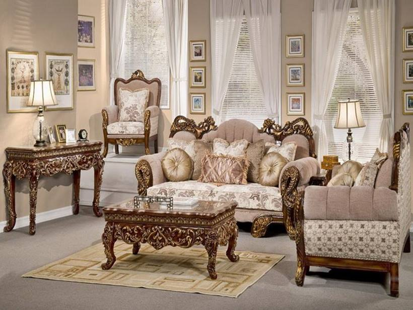 Classic Formal Living Room Furniture Idea
