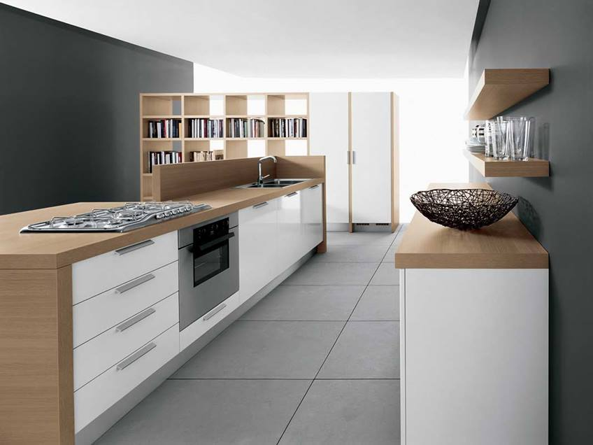 Color Design Idea For Minimalist Kitchen