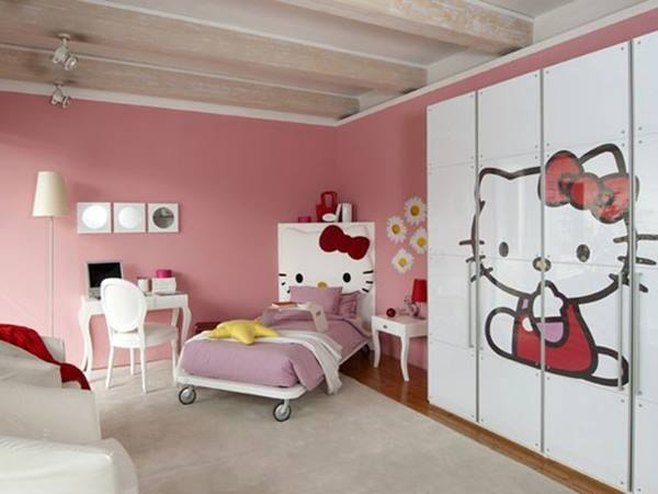 Decorative Bedroom Design For Young Girl