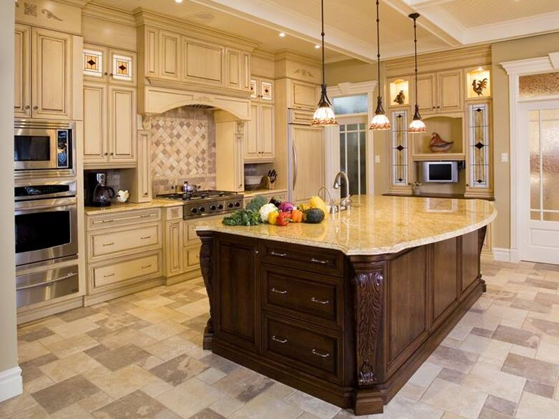 Design Of Luxury Modern Kitchen
