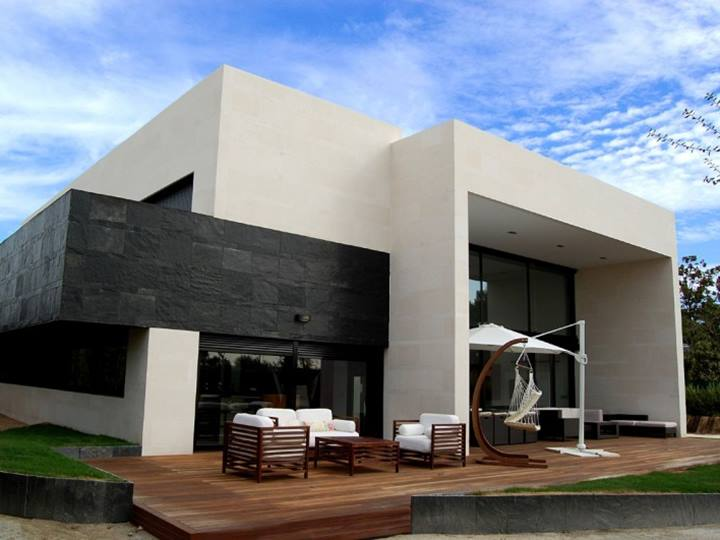 Elegant Black White Home Design