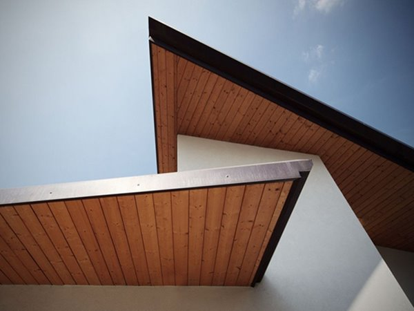 Elegant Roof Design For Modern Home