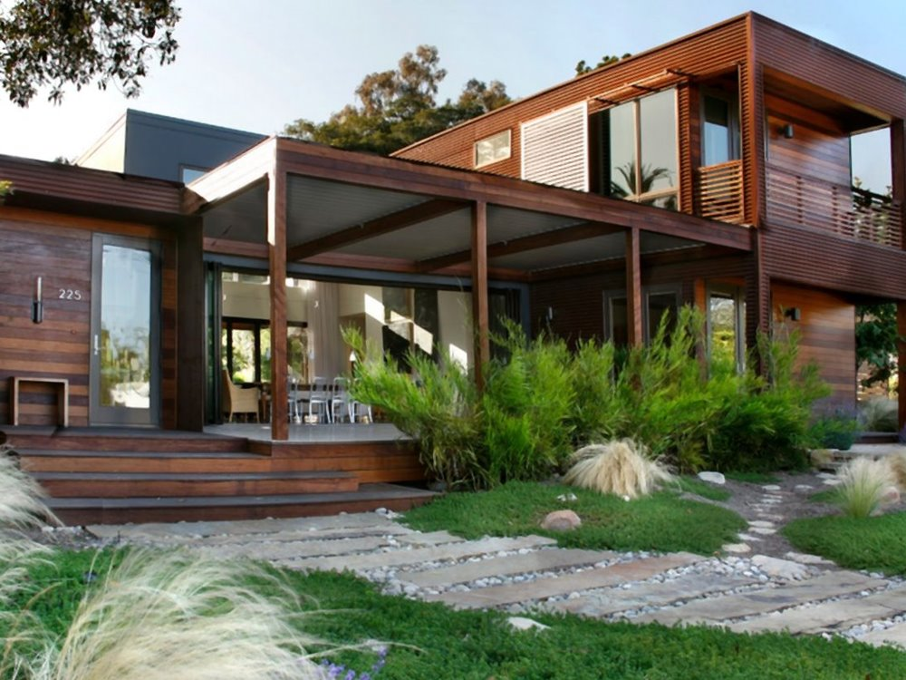 Elegant Tropical Wooden House Architecture 4 Home Ideas