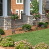 Front Home Decorating Idea With Garden