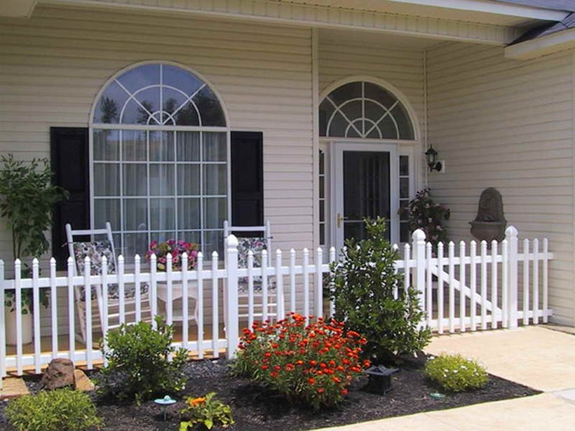 Front Porch Garden Design Layout