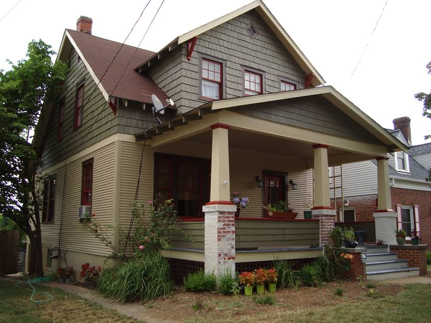 Gray Home Exterior Paint Color