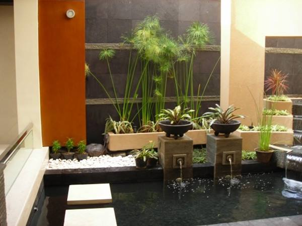 Home Decorating Idea With Indoor Garden