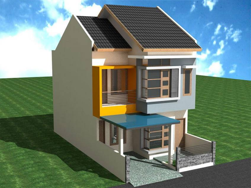 Home Design Model For Small Land - 4 Home Ideas