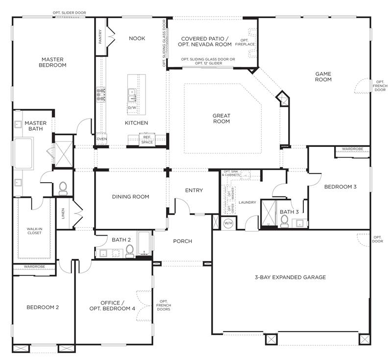 Home Plan Design With Minimalist Style