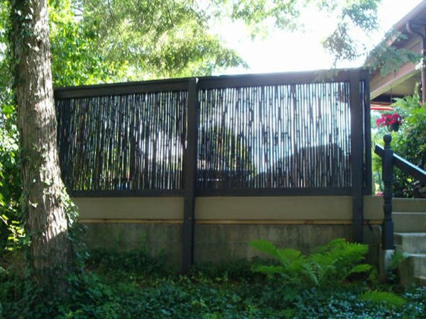 How To Build Bamboo Fence