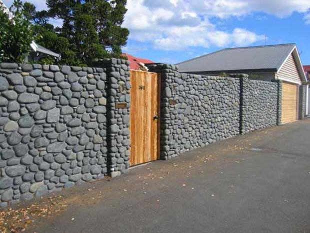How To Build Natural Stone Fence