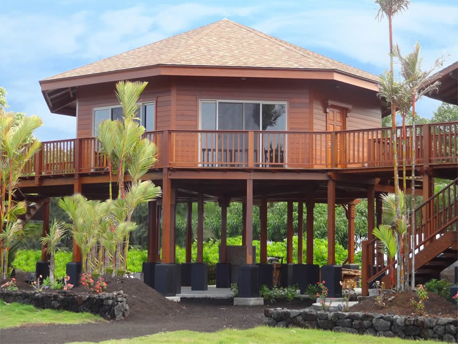 Great How To Build Tropical Wooden House
