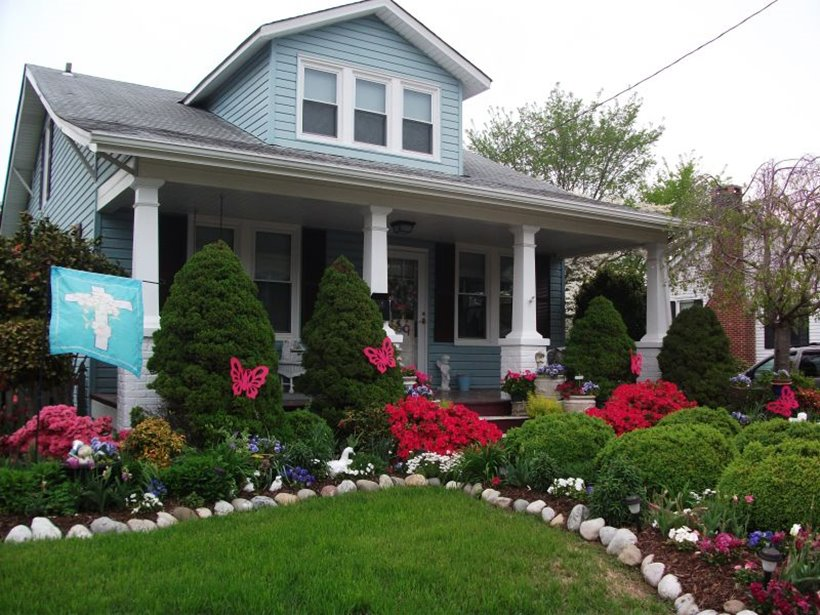 Small front yard ideas for minimalist home 4 home ideas for Beautiful small front yards