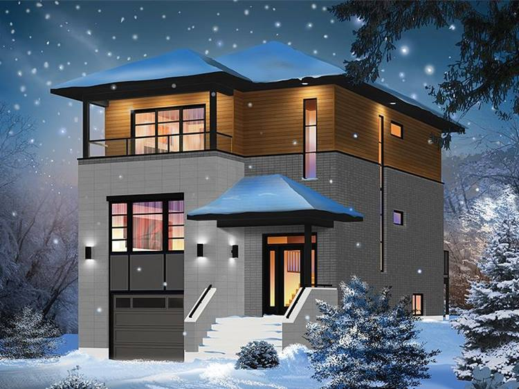 Luxury 2 Storey House Picture