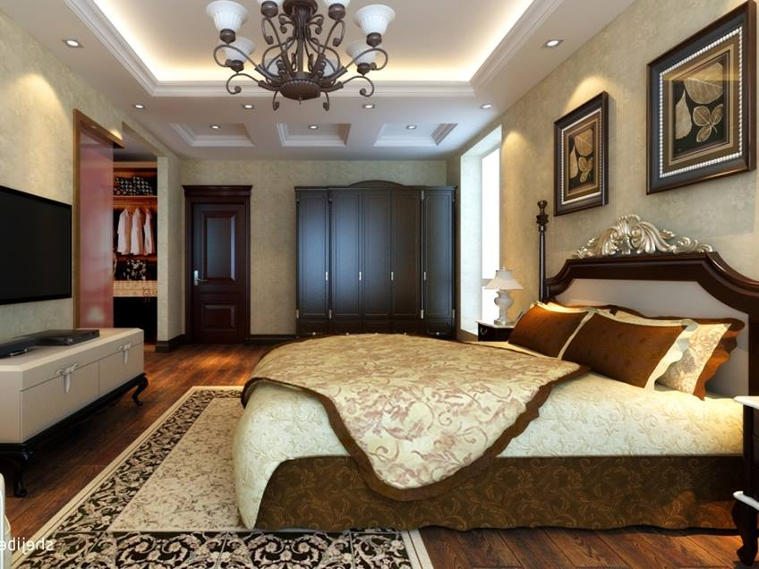 Luxury Decorating Idea For Main Bedroom