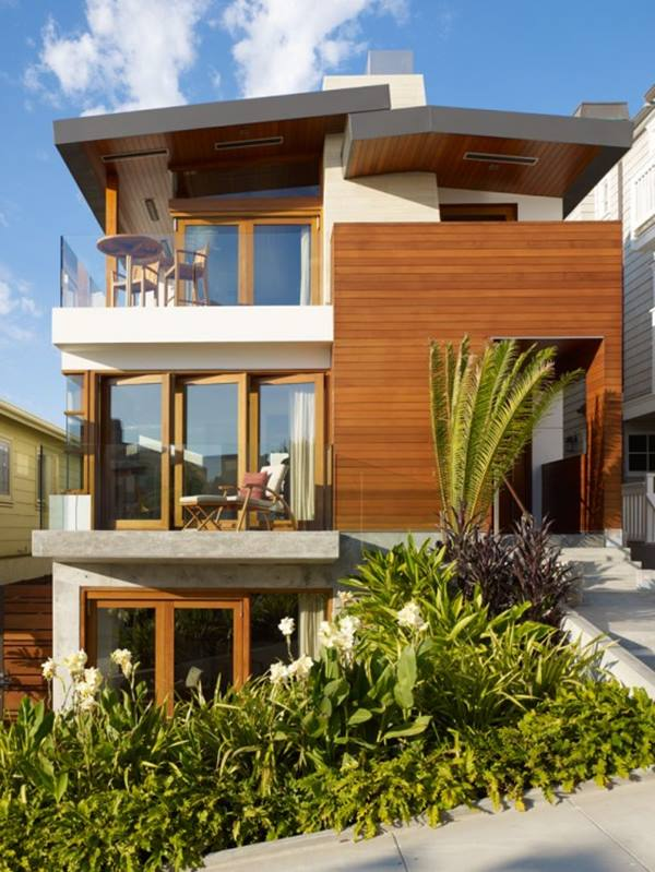 4500 Square Feet Tropical House On A Very Small Lot But: Minimalist 2 Floor Tropical Home Design
